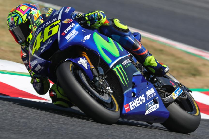 Valentino Rossi, Movistar Yamaha MotoGP, Catalunya MotoGP Official Test