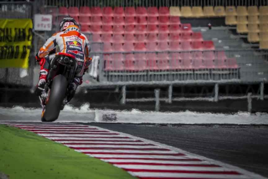 Marc Marquez, Repsol Honda Team, Catalunya MotoGP Official Test