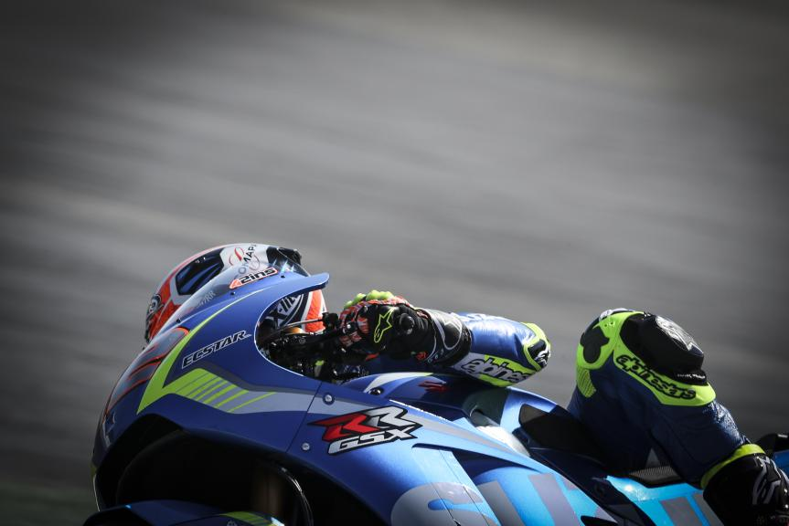 Alex Rins, Team Suzuki Ecstar, Catalunya MotoGP Official Test