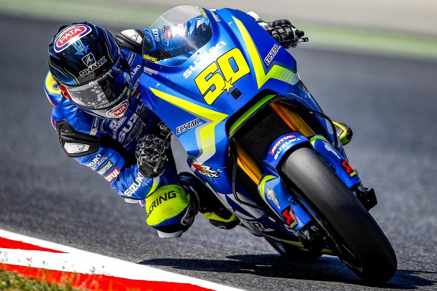 Sylvain Guintoli, Team Suzuki Ecstar, Catalunya MotoGP Official Test