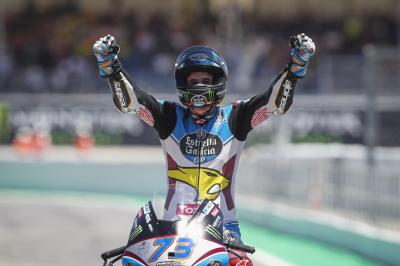 "Alex Marquez: ""The last lap was incredible!"""