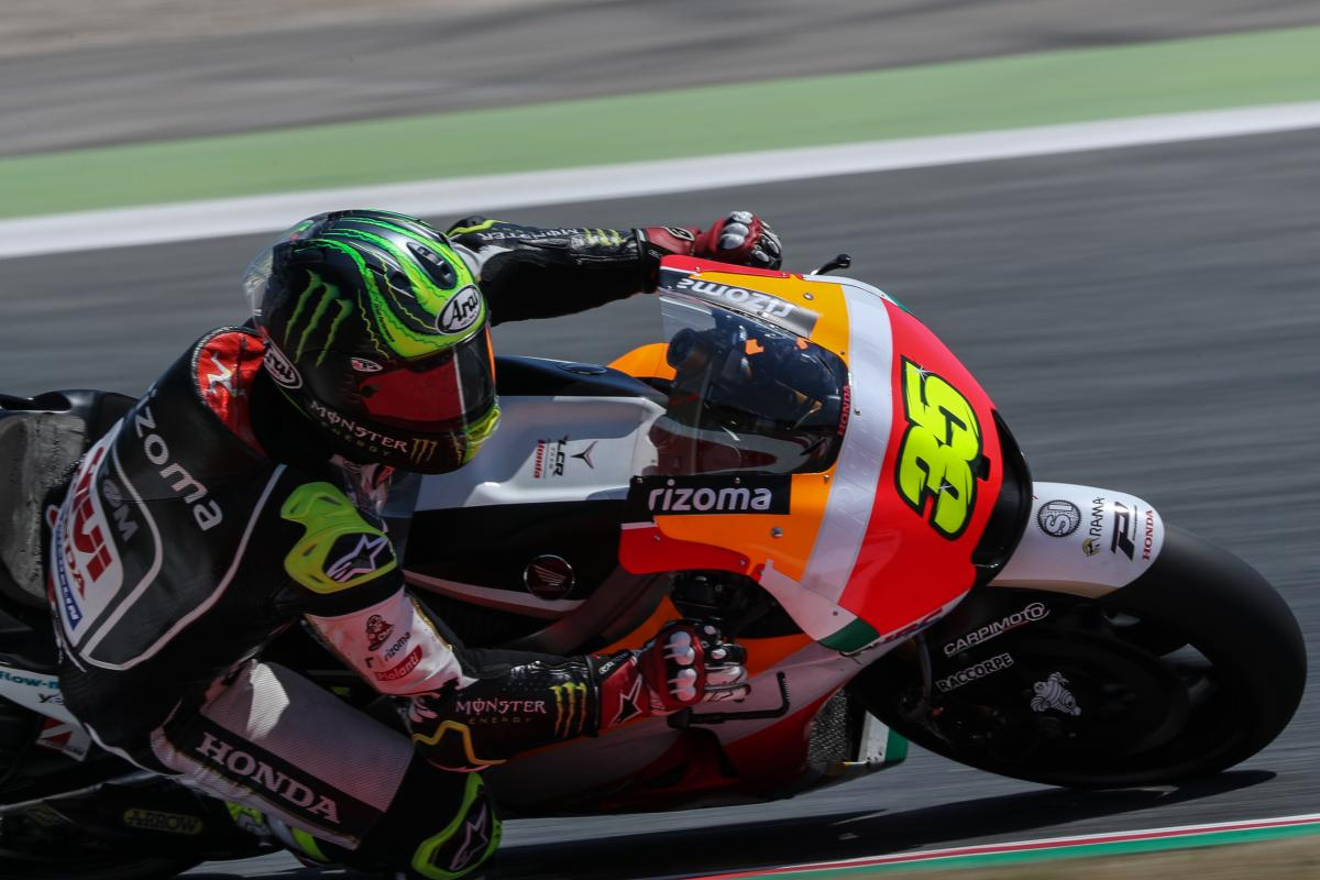 """Crutchlow: """"As mad as it sounds…"""" 