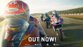Online, offline, races, time trials, career mode, co-op - and the new MotoGP™ eSport Championship! Suit up and get on board with the incredible new MotoGP™ videogame