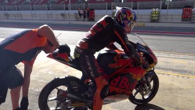 KTM completa 2 días de test privados en Barcelona-Catalunya