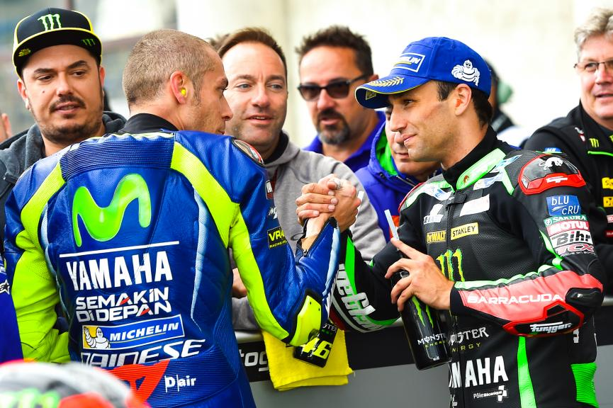 Rossi and Zarco