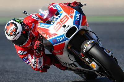 "Lorenzo: ""The Desmosedici can adapt well to the track'"
