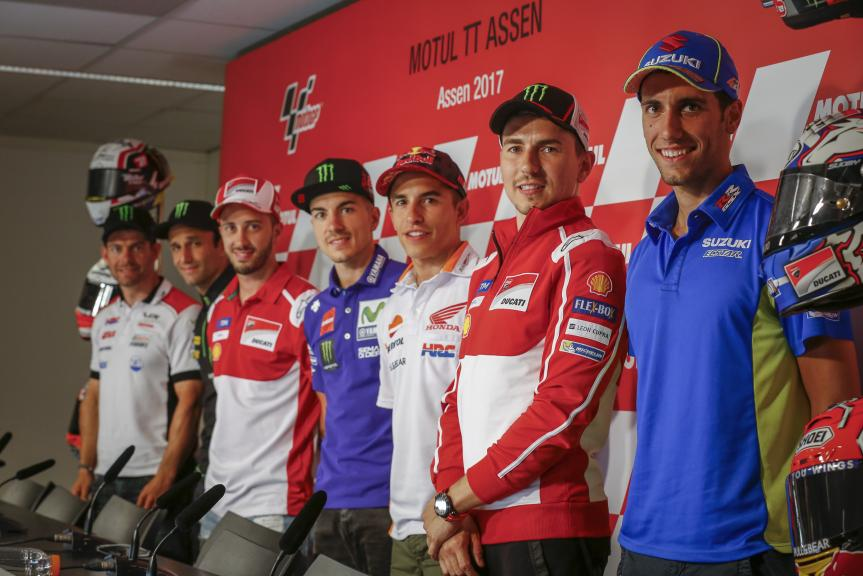Press-Conference, Motul TT Assen