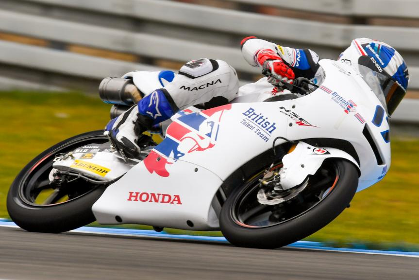 John Mcphee, British Talent Team, Motul TT Assen