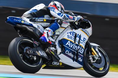 Baz prend ses marques à Assen sur Ducati
