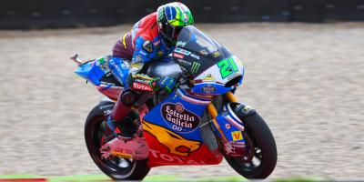 Morbidelli takes command at the 'Cathedral'