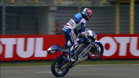 The Del Conca Gresini Moto3 rider finished the day ahead of fellowcountrymen, Aron Canet and Joan Mir