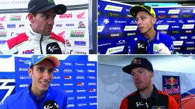 The fastest MotoGP™ riders of the day give us feedback on the Free Practice sessions at the #DutchGP.