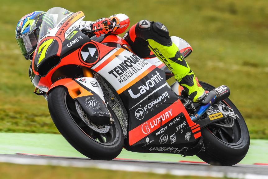 Lorenzo Baldassari, Forward Racing Team, Motul TT Assen