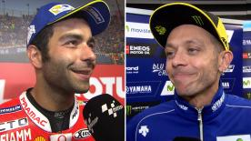 The  MotoGP™ riders give us feedback at the #DutchGP.