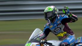 Watch Morbidelli's fastest lap for pole position.