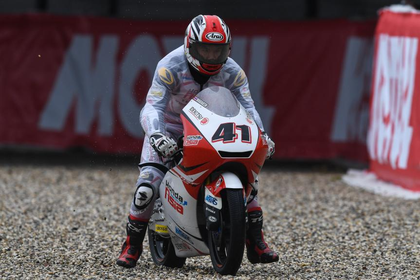 Nakarin Atiratphuvapat, Honda Team Asia, Motul TT Assen