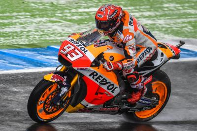 "Marquez: ""In both conditions I feel ready"""