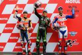 Johann Zarco, Marc Marquez, Danilo Petrucci, Motul TT Assen