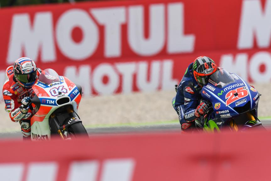 Andrea Dovizioso, Maverick Viñales, Motul TT Assen