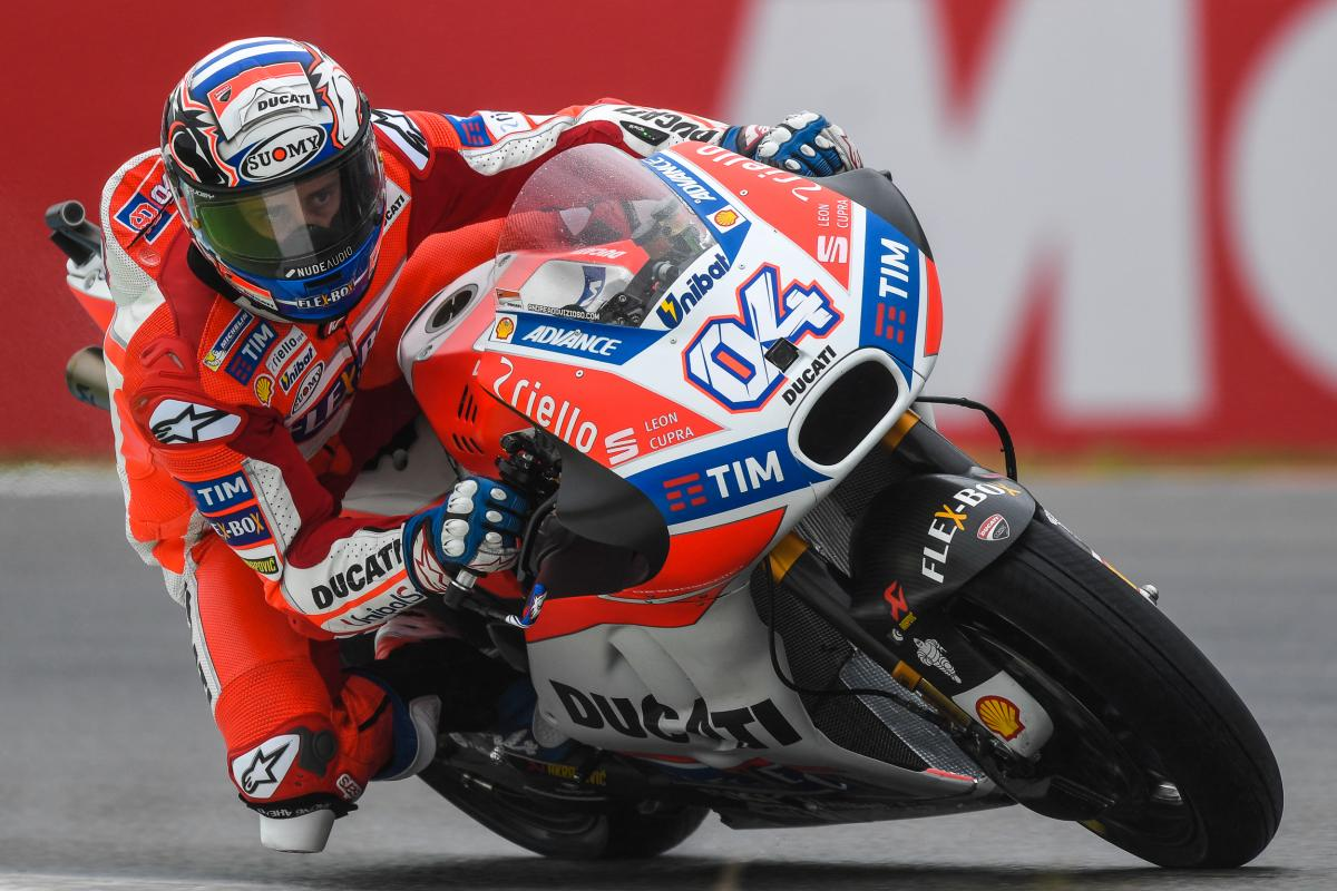 "Dovizioso: ""I thought about the Championship"" 