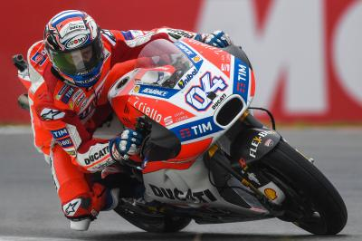 Dovizioso: 'I thought about the Championship'