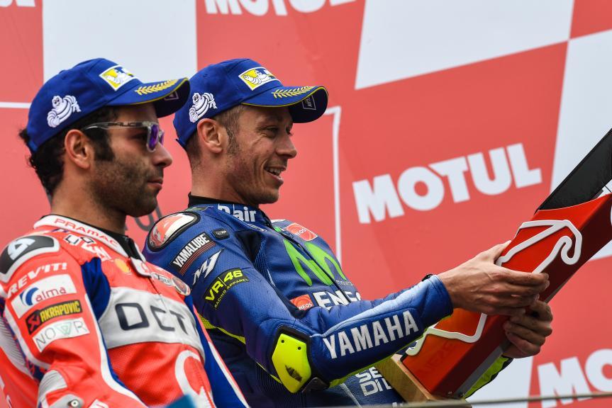 Valentino Rossi, Danilo Petrucci, Motul TT Assen