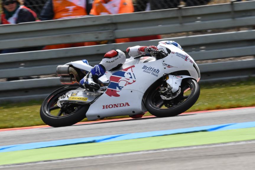 John Mcphee, British Talent Team, Motul TT Assen