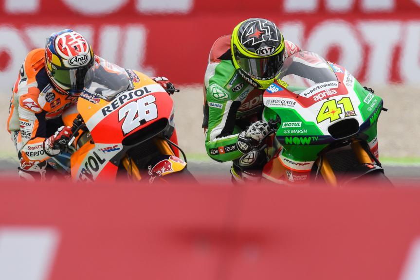 Dani Pedrosa, Aleix Espargaro, Motul TT Assen