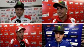 MotoGP™ riders give us feedback on their race results at the #DutchGP.