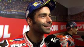 Assen marks the second podium of the year for the Italian rider