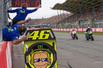 Rossi: 'I race for this feeling'