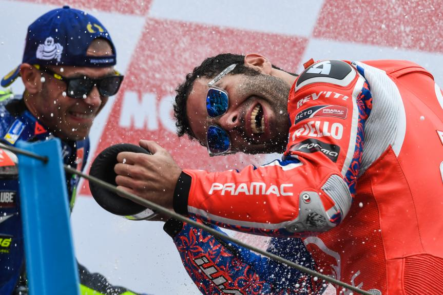 Danilo Petrucci, Valentino Rossi, Motul TT Assen