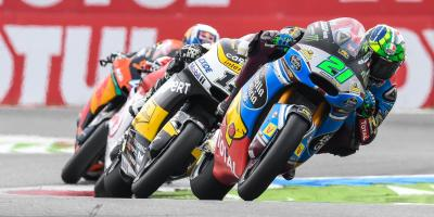 Gloves off: Morbidelli on top in Moto2™ showdown of the year