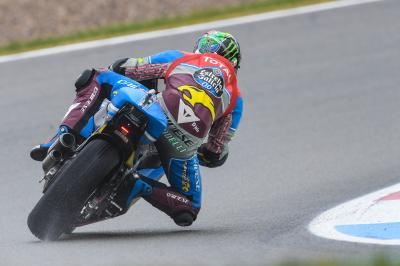 Morbidelli dirige le warm-up Moto2™ à Assen