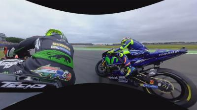 Watch in 360: Zarco vs Rossi at #DutchGP
