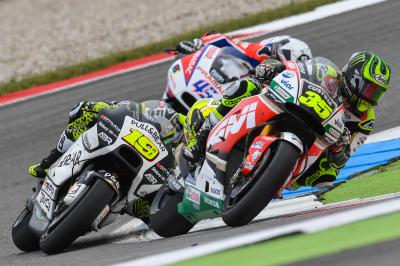 "Crutchlow: ""I should have passed them on the last lap"""