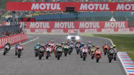 All the action from the full race session of the MotoGP™ World Championship at the #DutchGP.