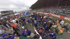 Be a part of the MotoGP™ grid at the Circuit TT Assen and enjoy it in 360 viewing