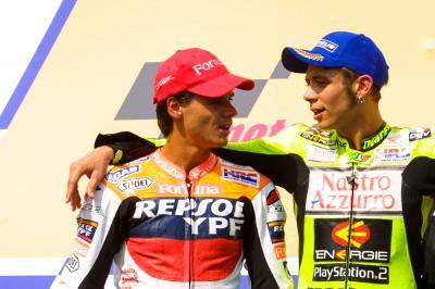Crivillé: 'La máxima obsesión de Rossi es sumar 10 títulos'
