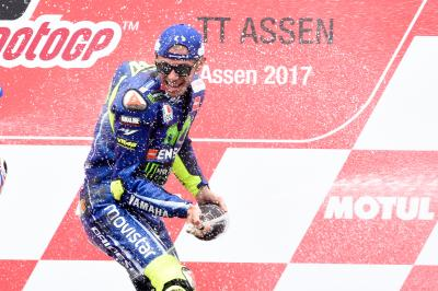 Rossi arrives for Sachsenring showdown