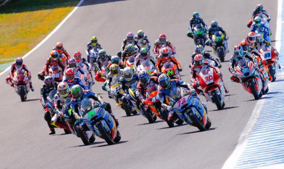 Moto2, Action