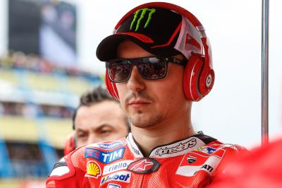 Lorenzo raring to get back on track