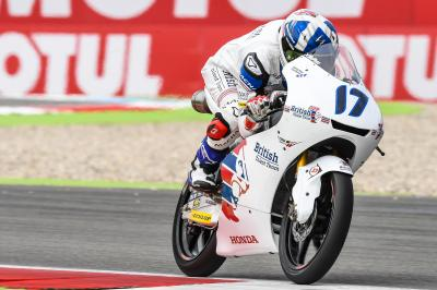 McPhee back on the podium trail in Germany