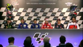 Everything you need to know from the official opening press conference at the #GermanGP.
