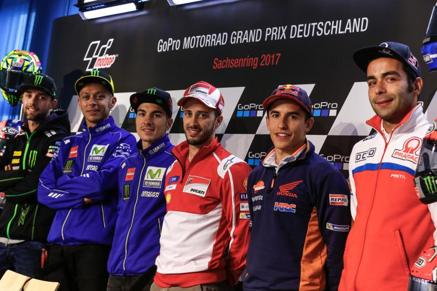Press-Conference - GoPro Motorrad Grand Prix Deutschland