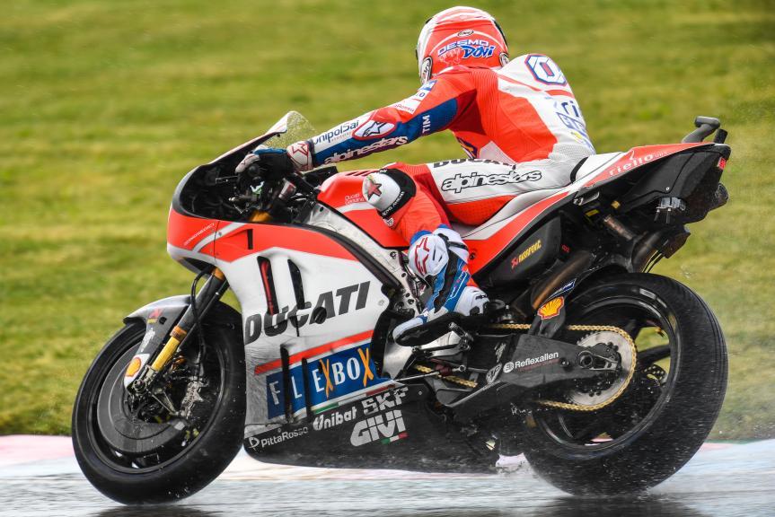 Andrea Dovizioso, Ducati Team, GoPro Motorrad Grand Prix Deutschland