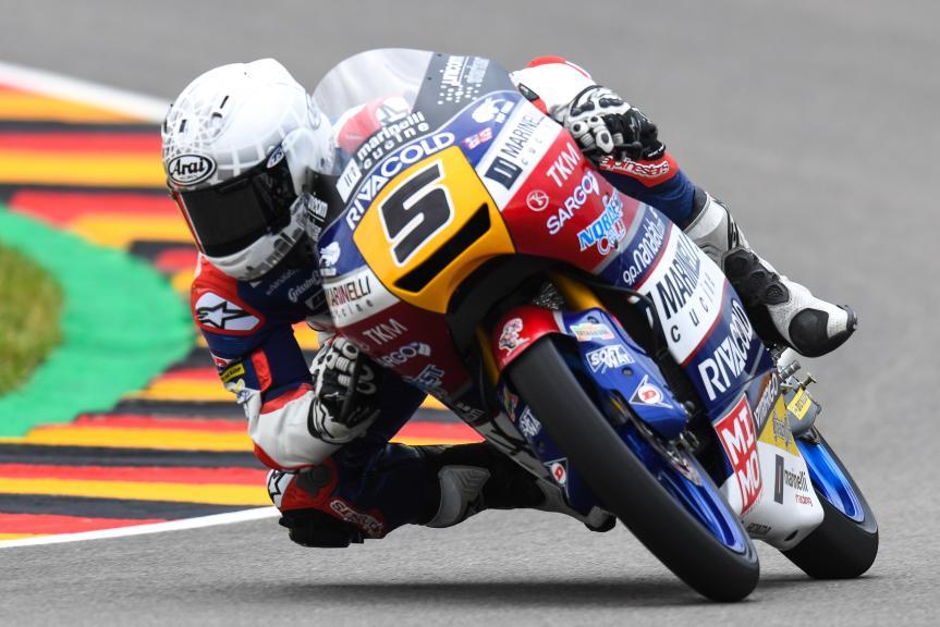 Romano Fenati, Marinelli Rivacold Snipers, GoPro Motorrad Grand Prix Deutschland