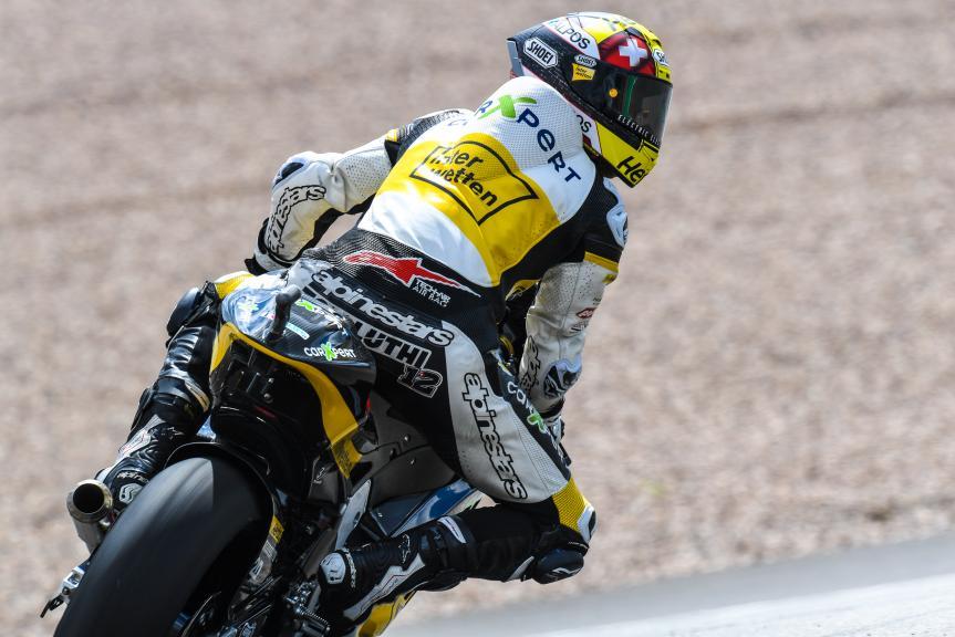 Thomas Luthi, Carxpert Interwetten, GoPro Motorrad Grand Prix Deutschland
