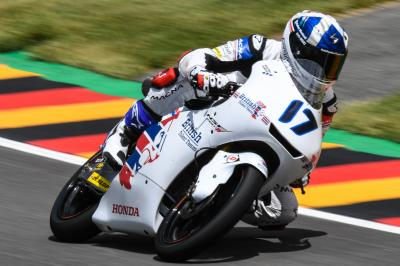 Solid opening day at the Sachsenring for McPhee