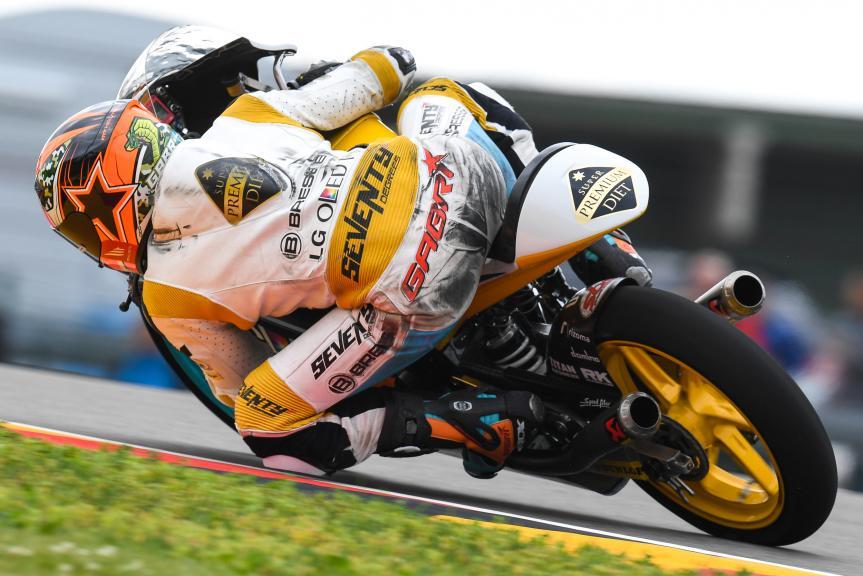 Gabriel Rodrigo, RBA BOE Racing Team, GoPro Motorrad Grand Prix Deutschland